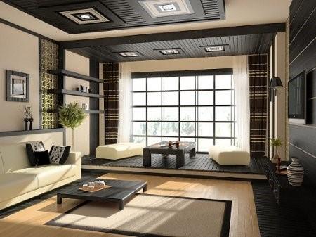 японски стил в дневната