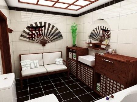 японски стил и в банята