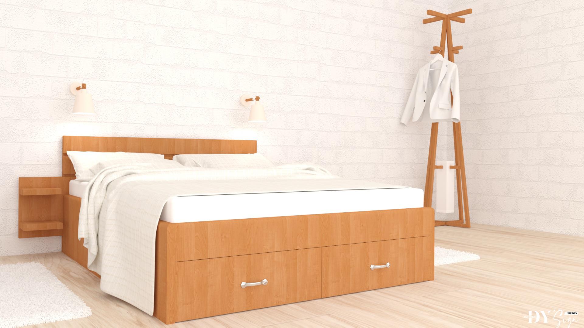 Спалня Елша с рафтчета
