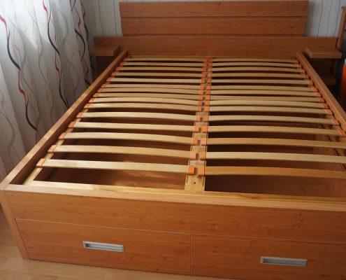 Нова спалня от елша