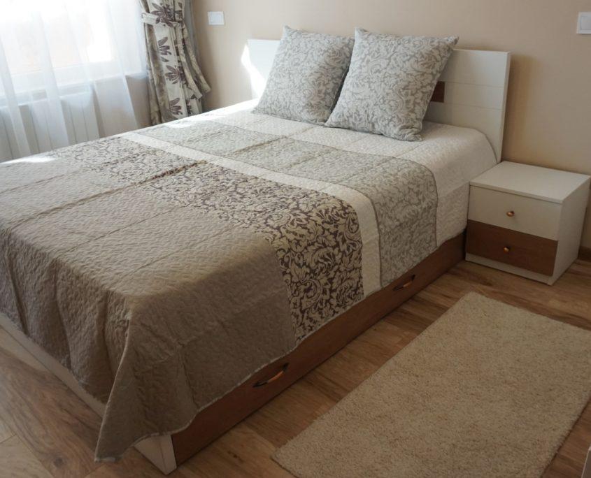 обзавеждане на спалня в пастелни цветове