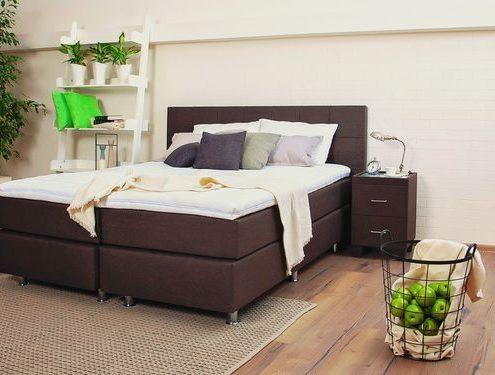 Най-добрата спалня - бокссспринг легло