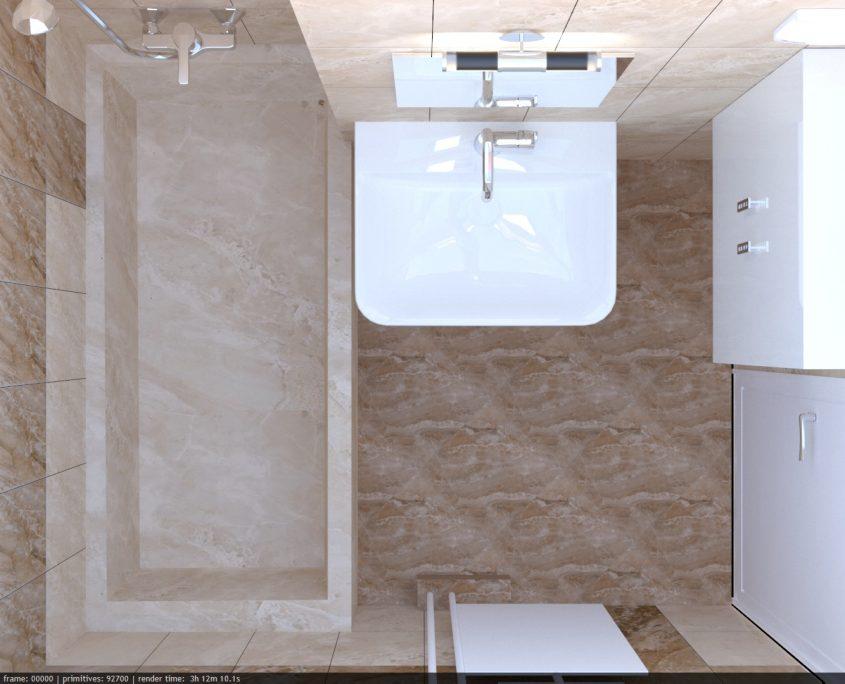 3d визуализация - баня