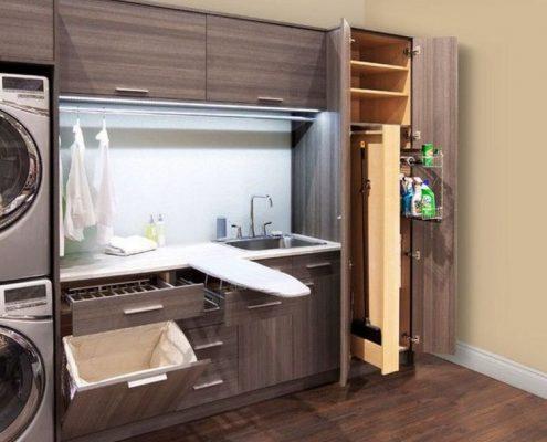 Идея за организация на пералното помещение