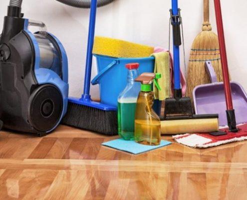 Пролетно почистване на дома