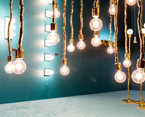 Salone del Mobile - lights