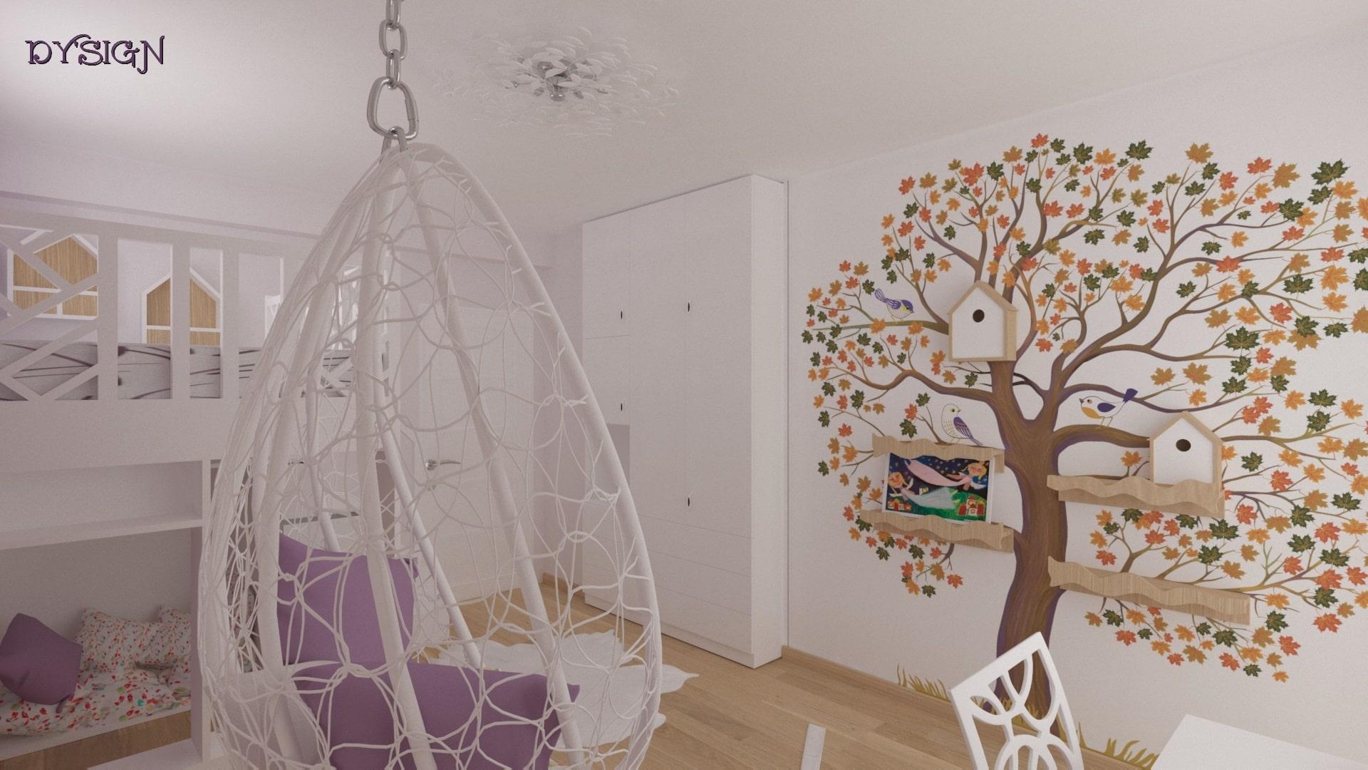 Детска стая Божидара_гардероб