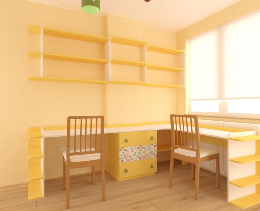 Детска стая Христина_бюра