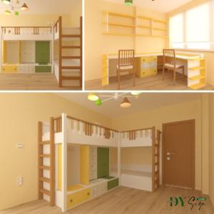 Детска стая Христина_колаж