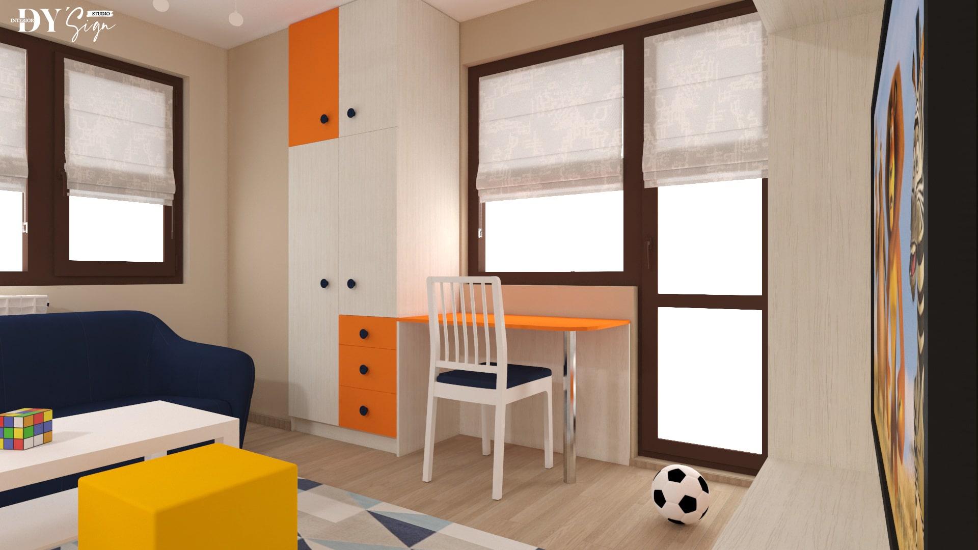 Детска стая Алекс_бюро