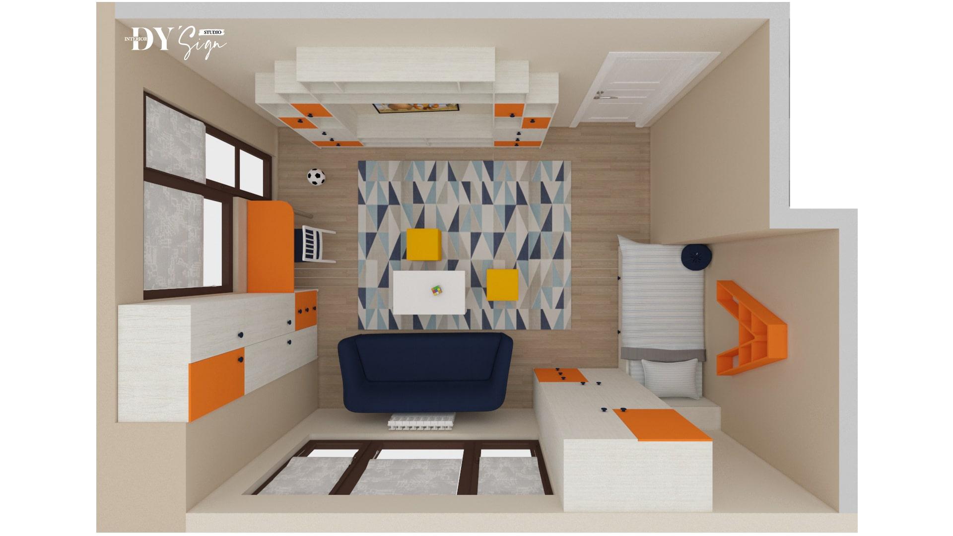 Детска стая Алекс_план