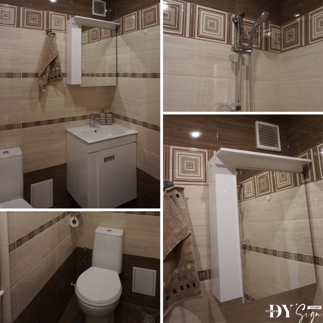 Проекти - Апартамент Канела_баня