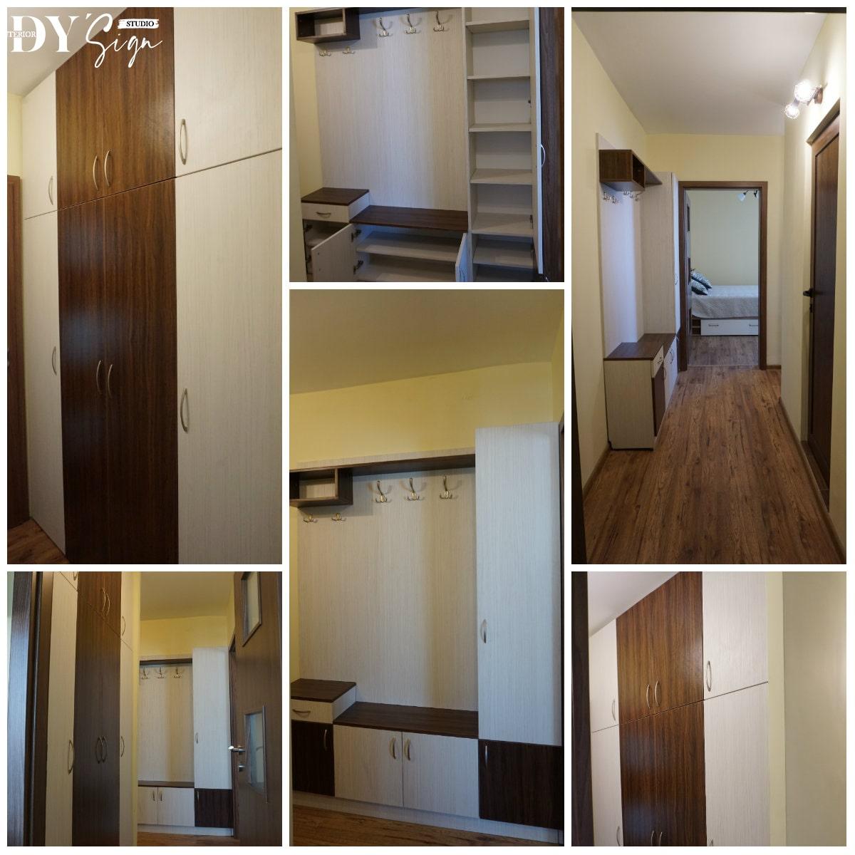 Интериор проекти - Апартамент Канела_коридор