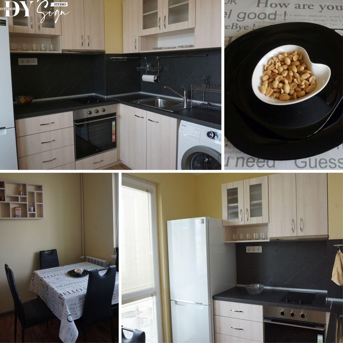 Интериор проекти - Апартамент Канела_кухня