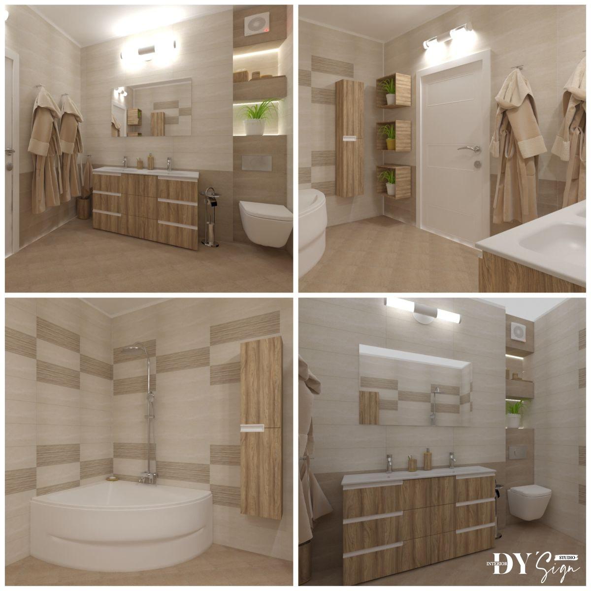 Интериорни проекти - Баня Дарина