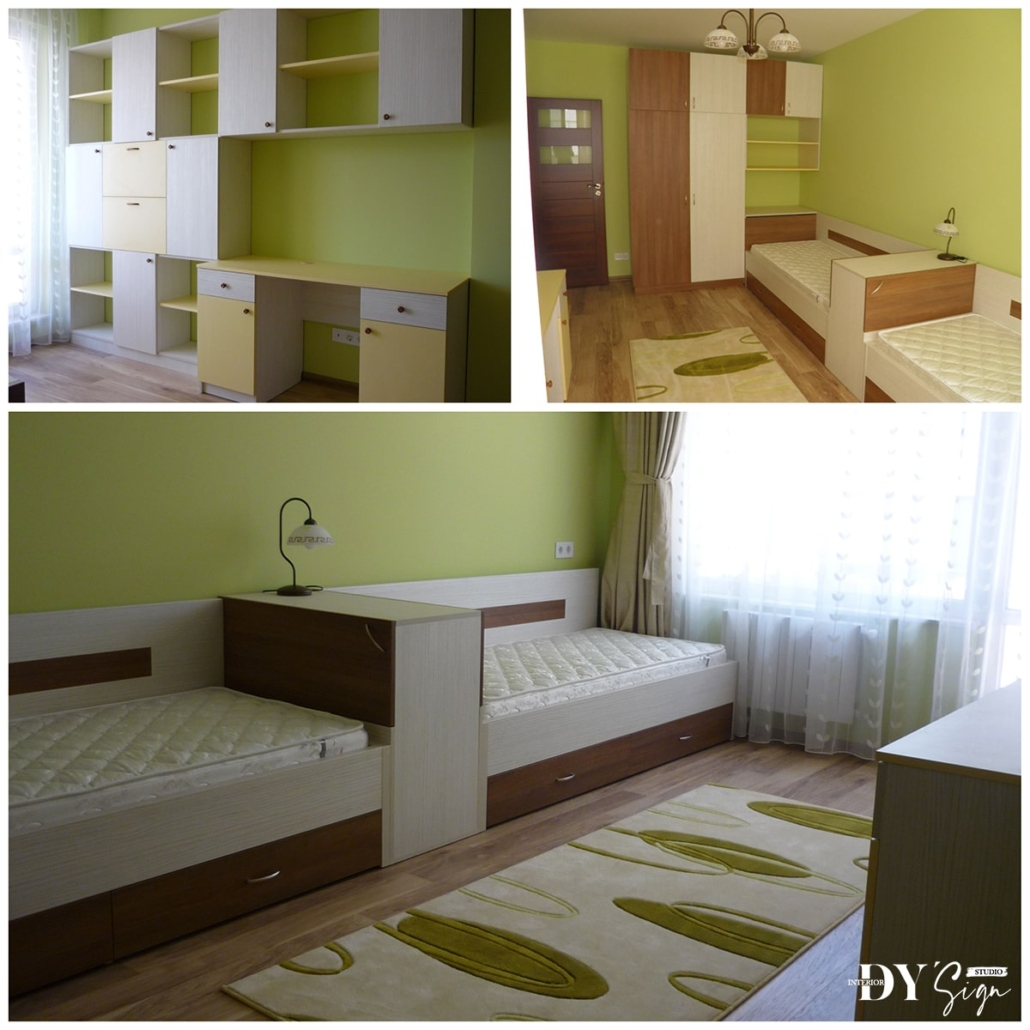 Интериор проекти - Апартамент Какао_детска стая