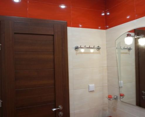 малка червена баня